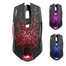 Gaming Mouse Wireless Light Up Amazon Com