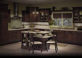 Kitchen Cabinets Merillat Entrancing Brown Color Oak Wood Merillat Kitchen Cabinets