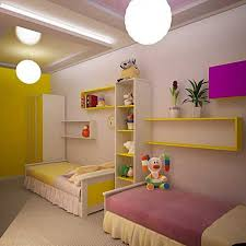 Bedroom Ideas For Adults Shared Room Ideas For Adults Yellow Lacquered Wood Kid Bed Cabinet