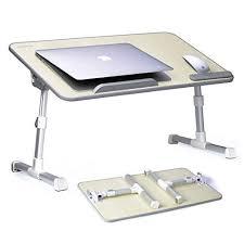 desk avantree adjustable laptop bed table large size portable