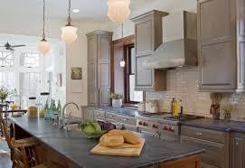 Grey Kitchen Cabinets With Granite Countertops Home Decor Amazing Modern Interior Gray Kitchen Granite