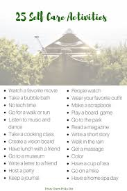 Counselor Self Care Activities Best 25 Self Care Activities Ideas On Self Care Self