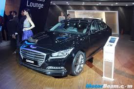 hyundai genesis 2 hyundai showcases genesis at 2016 auto expo live motorbeam