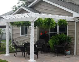 Attached Pergola Designs by 79 Best Home Garden Pergola Images On Pinterest Vinyl Pergola