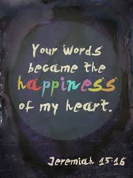 happiness by blugi thy words were found and i did eat them