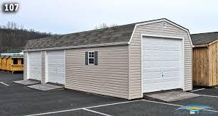 Shed Overhead Door 1 Car Garage Shed Single Car Garage Shed Horizon Structures