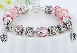 european style bracelet charms images 925 silver crystal charm bracelet flyjewelery png