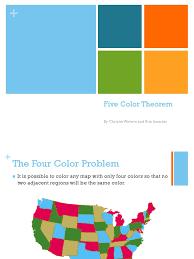 5 color theorem discrete mathematics applied mathematics