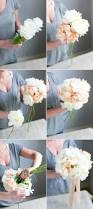 How To Make Wedding Bouquet Create Your Own Handtied Peony Wedding Bouquet