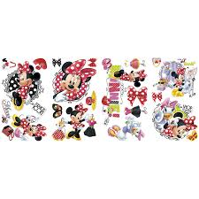 party banners decor toys r us australia join the fun roommates minnie mouse loves to shop wall sticker