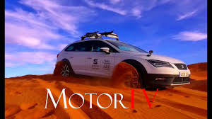 2017 seat leon x perience at the sahara desert l clip u0026 driving