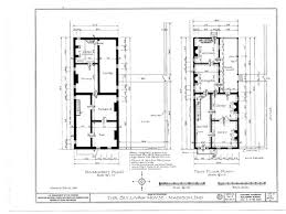 federal style home plans jeremiah sullivan townhouse indiana colonial williamsburg houses