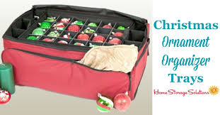 ornament organizer trays for lots of storage