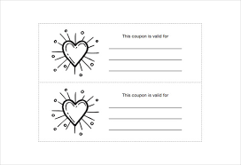 homemade coupon template u2013 10 free pdf format download free