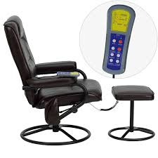 Recliner Massage Chairs Leather Massage Chair Best Reclining Massage Chair With Heat Power