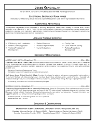 exles of rn resumes sle resume nursing fungram co