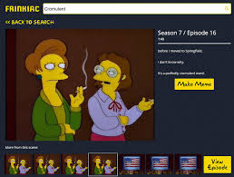 Meme Search Engine - this simpsons meme engine is d oh good