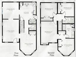 1 story 4 bedroom house plans beautiful 4 bedroom 2 storey house plans new home plans design