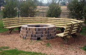 inspirational fire pit bench plans fire pit bench plans 3