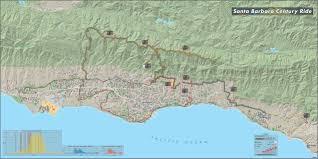 Santa Barbara Map Travel And Adventure Samples Maps Com Solutions