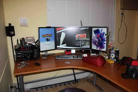 best desk setup computer desktop ideas u203a home design pictures