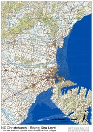 Maps New York Climate Change The Encroaching Sea New Nz Sea Level Rise Maps U2013 Topic