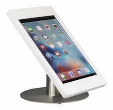 desk stand for ipad pro 12 9 inch black with stainless steel base