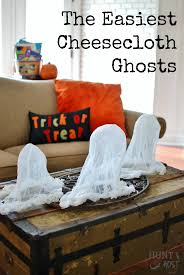 easy cheesecloth ghosts hunt and host