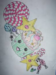 cupcake tattoo design by advchild on deviantart