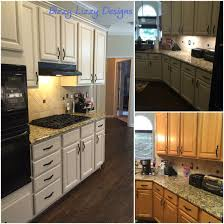 kitchen cabinets from golden oak to sw natural tan by bizzy