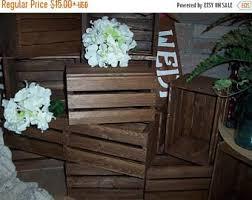 Wood Vases For Sale Gotcha Sale Wooden Crates 5 Wood Wedding Reception