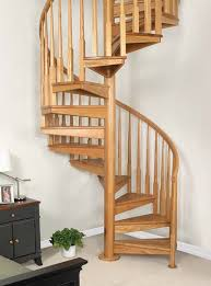 Awesome Wood Spiral Staircase Kit 69 With Additional Best Interior