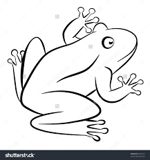 outline of frog kids coloring europe travel guides com