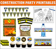top 10 construction party theme games ideas and activities for