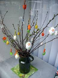 german easter decorations how to make a german easter tree easter and easter crafts