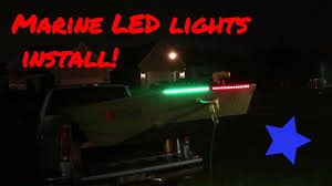 installing led lights on boat how to install led navigation lights on a jon boat jon boat series