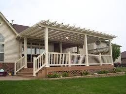 build pergola raised deck design collections gorgeous pergola on