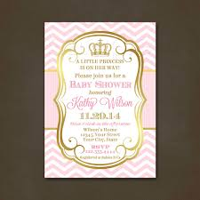 Elegant Baby Shower by Princess Baby Shower Invitations Printable File Shower