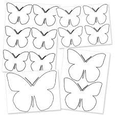 important large butterfly template printable free s 1064
