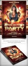 halloween party flyers templates apocalypse party flyer party flyer apocalypse and flyer template