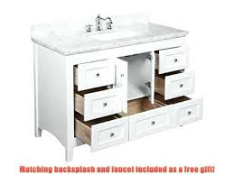 52 double sink bathroom vanity cabinet inch wide vanities inches