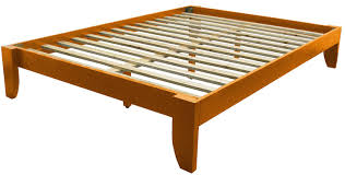 Oak Platform Bed Copenhagen All Wood Platform Bed Frame King Medium