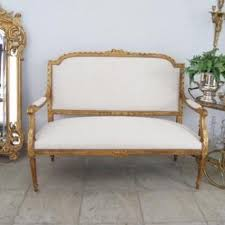 canape louis xvi banquette ancienne canapé ancien on proantic louis 16th directory