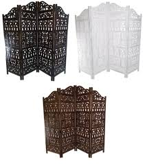 4 panel heavy duty indian screen wooden gamla design screen room