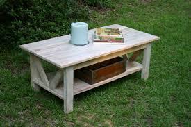 Whitewash Coffee Table Living Room Rustic White Wash Coffee Table White Washed Wood