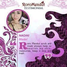 Masker Kulit Manggis Roro Mendut skin care terbaik di indonesia pemutih kulit alami by