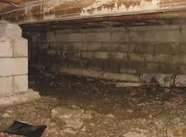 mold damage u0026 crawl spaces in ontario kenmar basement systems