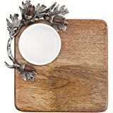 mud pie cutting boards mud pie cabin fever wood cutting board acorn accents