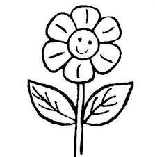 fiori disegni margherita sorridente disegni da colorare disegni da colorare