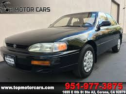 toyota credit bank sold 1995 toyota camry le in corona
